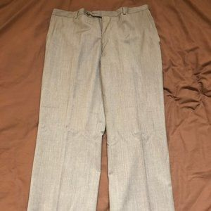 Stafford Travel Slim Fit Suit Pants Gray